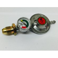 Propane Regulator with Gauge