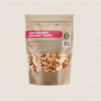 Green Olive Smoking Chips - Brandy Oak - 1.5 Litre